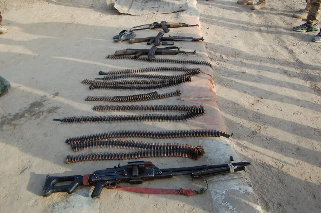 Counterinsurgency: Troops kill 16 terrorists, destroy gun trucks, recover arms