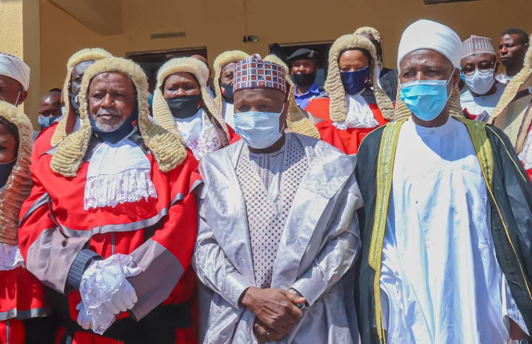 Governor Yahaya pledge improve welfare of judiciary