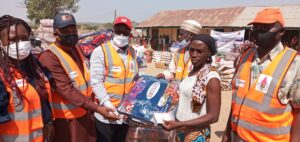 USAID, KADSEMA distribute relief materials to victims of gun attacks