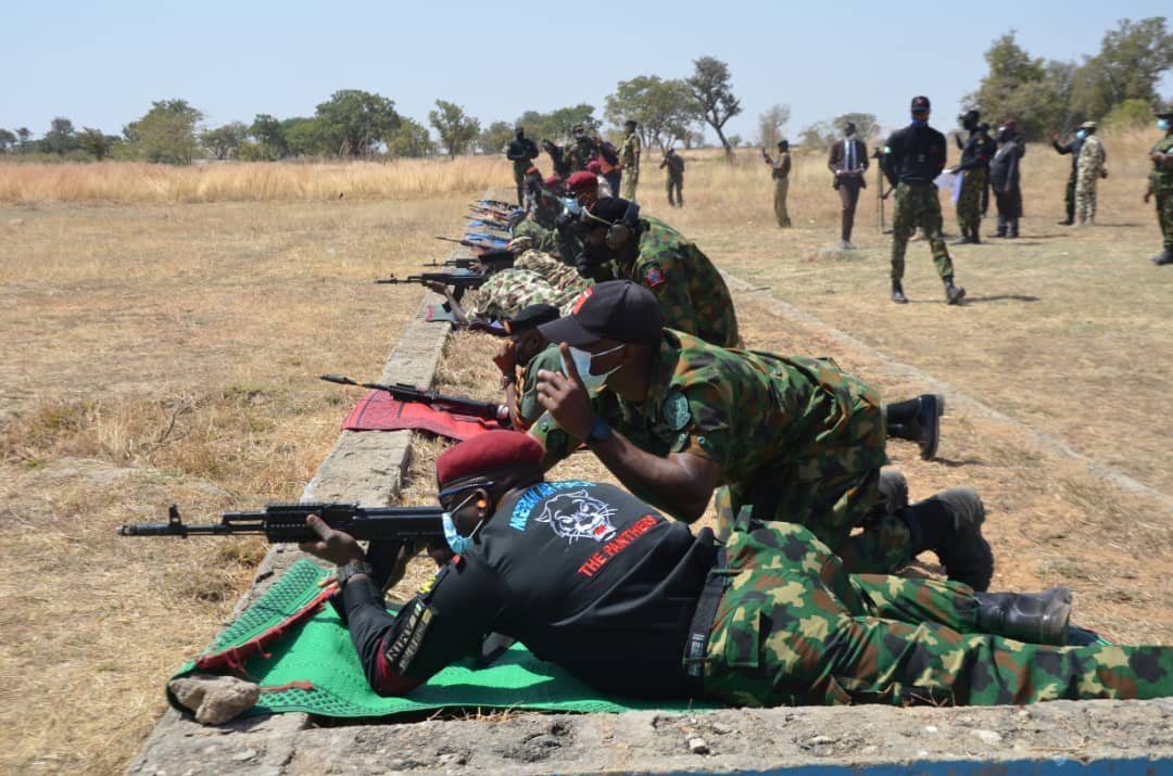 Security challenges: NAF inaugurates 203 special forces to boost