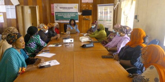 Network Advocates for Women inclusion in Peace, Security Decisions