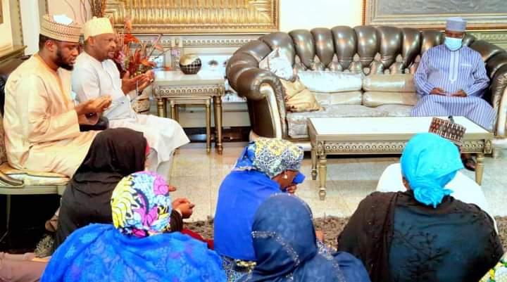Atiku visits late Sen. Al-Hasaan' Family